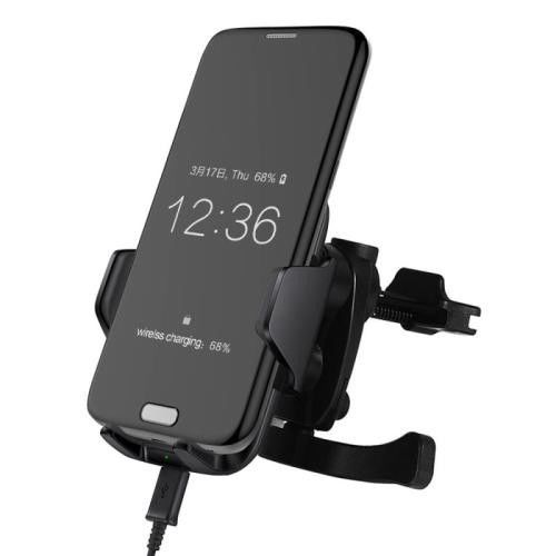 This MIG Wireless Car Charger Phone Holder Is A Necessary Accessory During Your Driving Trip Considerable Design Allows You To Mount Conveniently