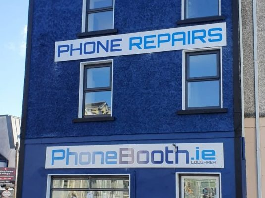 Phonebooth Loughrea Shop Front